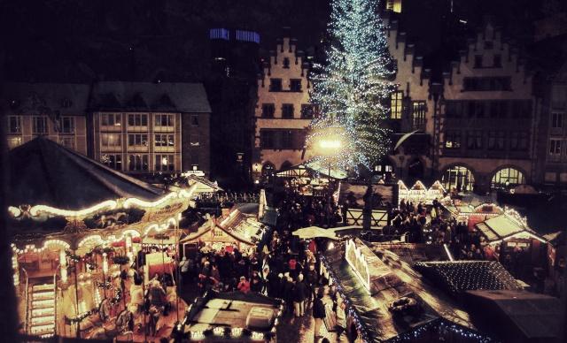 Weihnachtsmarkt Snapseed